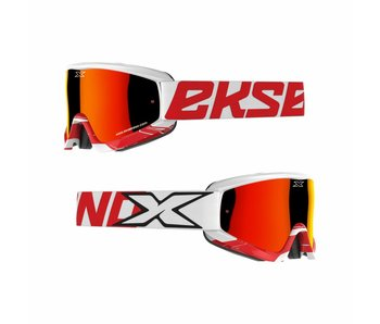 EKS Brand GOX CROSSFADE White/ Red