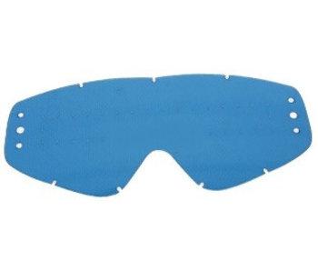 EKS Brand GO-X ZIP OFF ANTI-FOG RAIN LENS, BLUE TINT