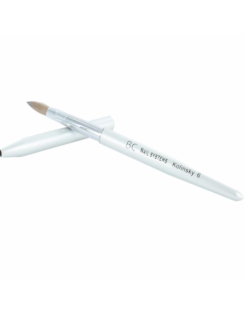 BC Nails Kolinsky Acryl penseel #6