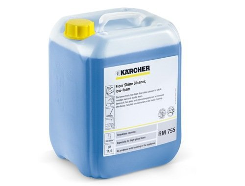 Kärcher Kärcher schoonmaakmiddel Floor gloss cleaner agents 755  | 10 Liter