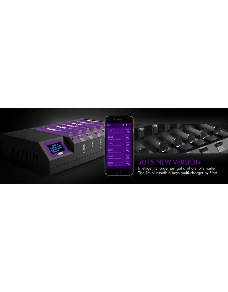 Efest Efest LUC BLU6 OLED intelligent charger