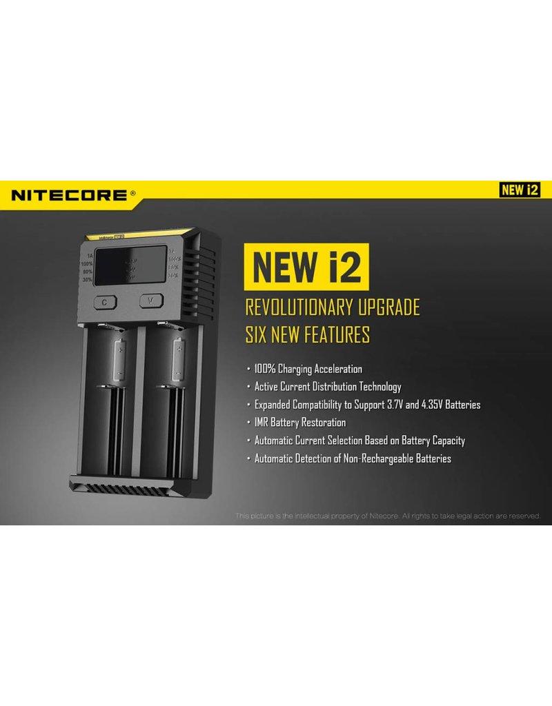New Nitecore intellicharger i2