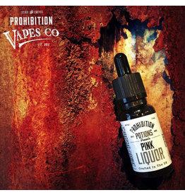 Prohibition Vapes Pink Liquor 20ml 3mg