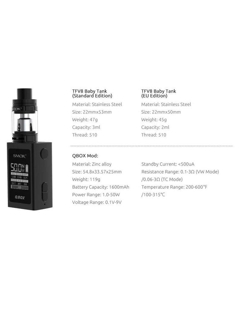 Smok SMOK Q BOX STARTER KIT