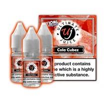 Ultimate Juice Cola Cubez 3 x 10ml Multipack
