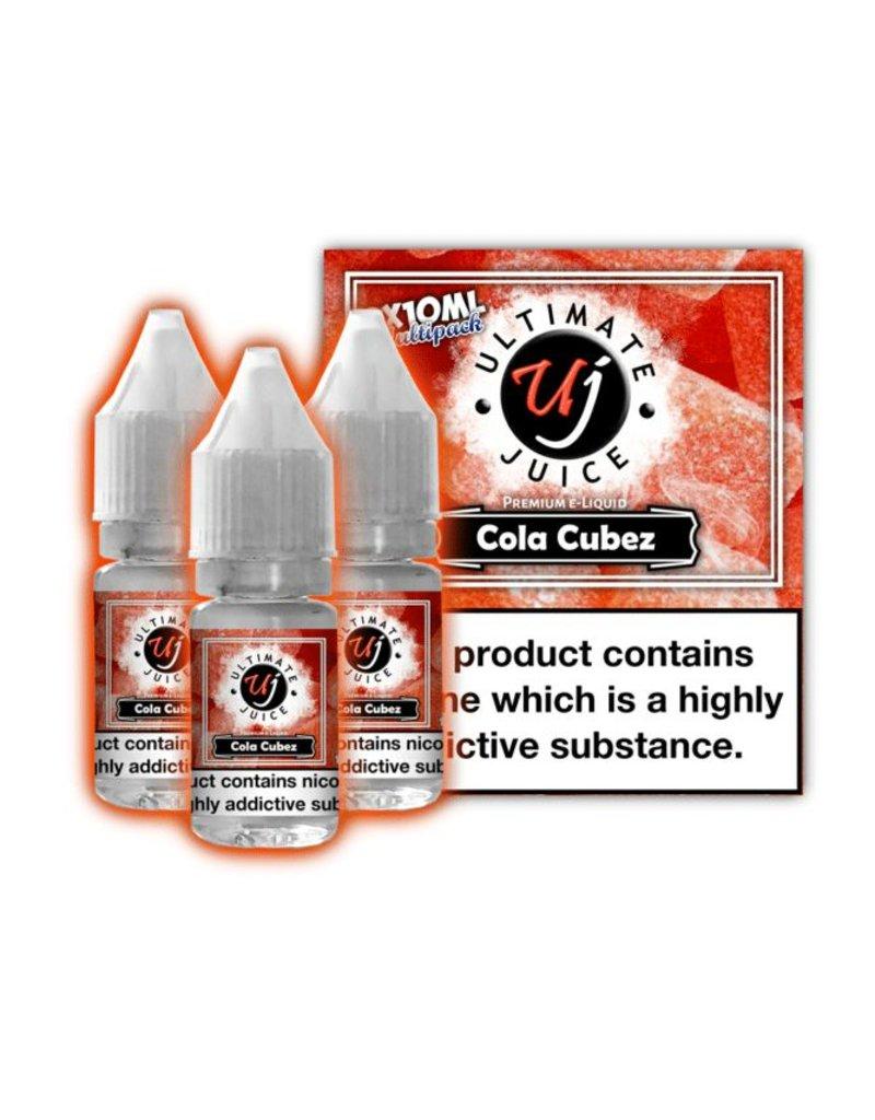 Ultimate Juice Ultimate Juice Cola Cubez 3 x 10ml Multipack