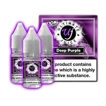 Ultimate Juice Deep Purple 3 x 10ml Multipack