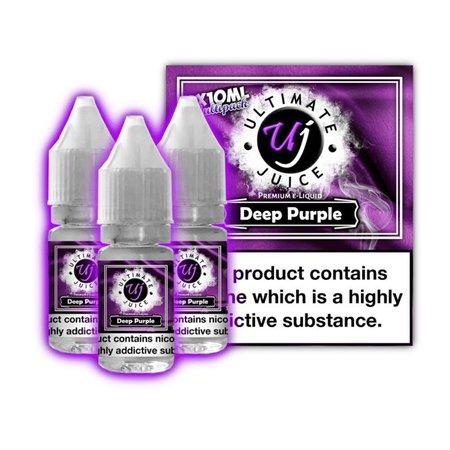 Ultimate Juice Ultimate Juice Deep Purple 3 x 10ml Multipack