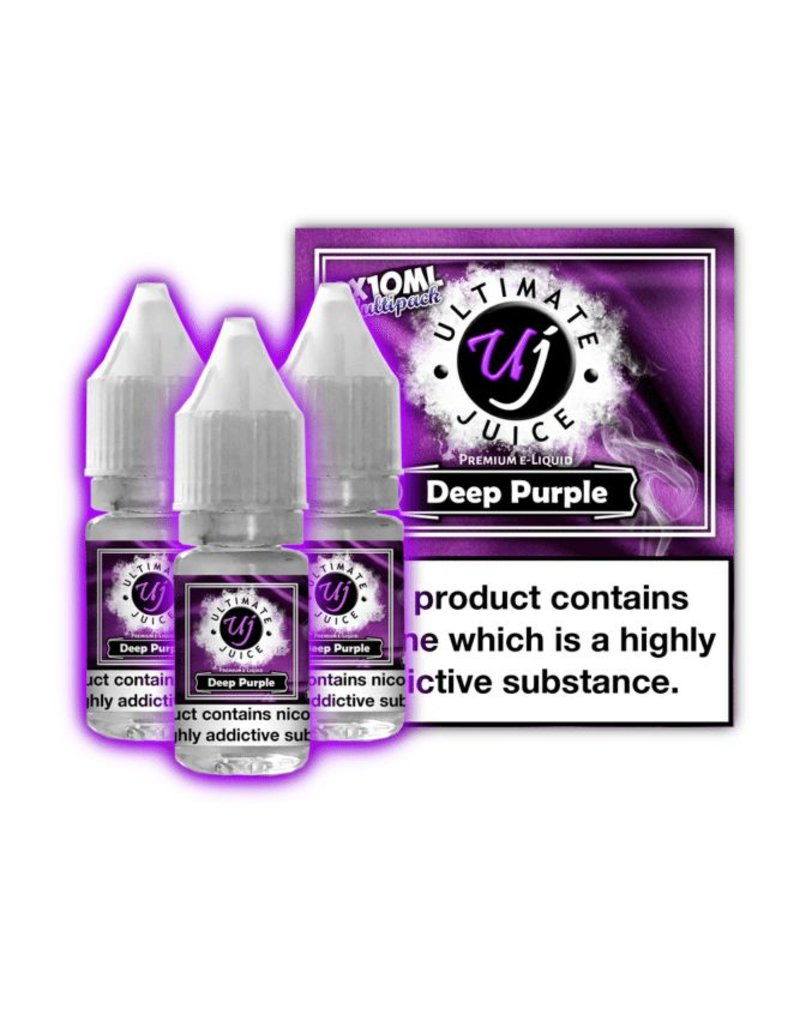 Ultimate Juice Ultimate Juice Deep Purple 3 x 10ml Multipack