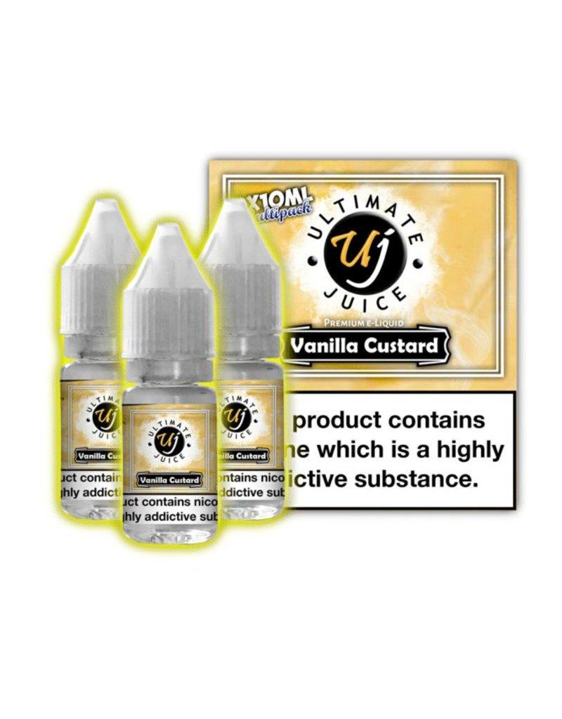 Ultimate Juice Ultimate Juice Vanilla Custard 3 x 10ml Multipack