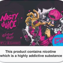 Nasty Juice Wicked Haze 5x10mls 3mg