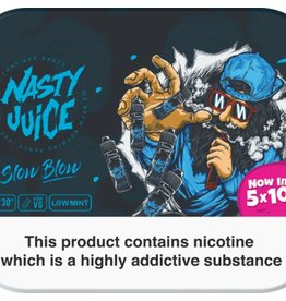 Nasty Juice Nasty Juice Slow Blow 5x10mls 3mg