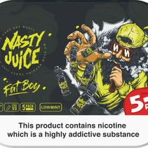 Nasty Juice Fat Boy 5x10mls 3mg