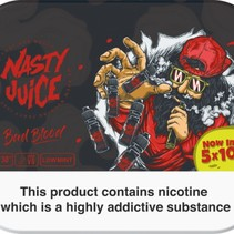 Nasty Juice Bad Blood 5x10mls 3mg