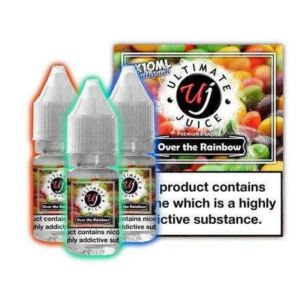 Ultimate Juice Ultimate Juice Over the Rainbow 3 x 10ml Multipack