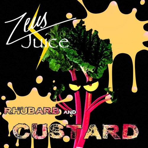 Zeus Juice Rhubarb and Custard 50ml 80/20 0mg shortfill