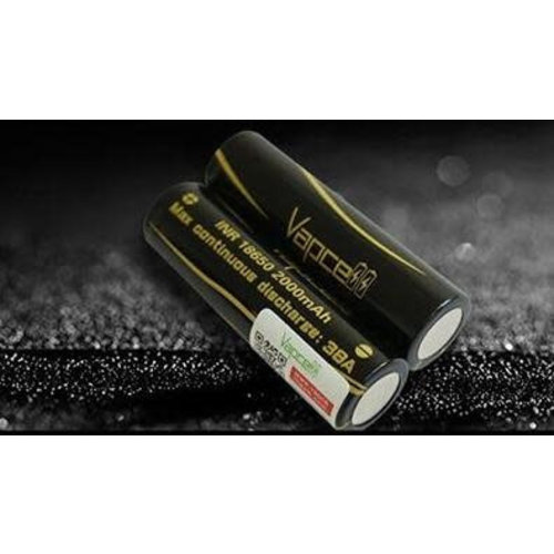 vapcell 2x VapCell 18650 Battery (free case)