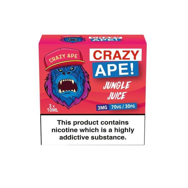 Crazy Ape JUNGLE JUICE 3x10ml 3mg