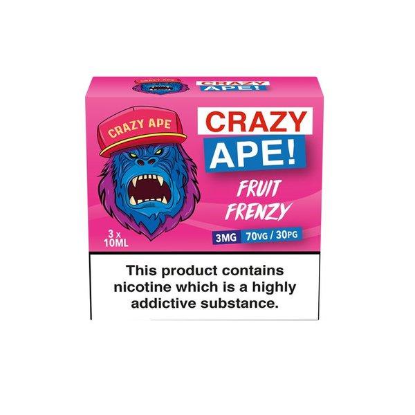 Crazy Ape Fruit Frenzy 3x10ml 3mg