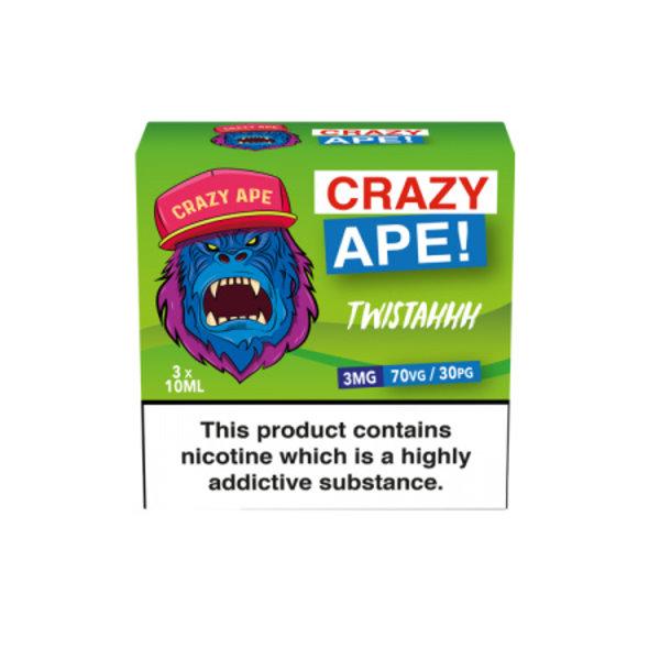 Crazy Ape TWISTAHHH 3x10ml 3mg