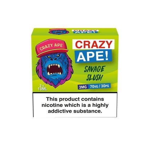Crazy Ape SAVAGE SLUSH 3x10ml 3mg