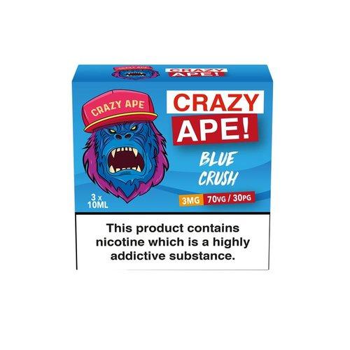Crazy Ape BLUE CRUSH 3x10ml 3mg