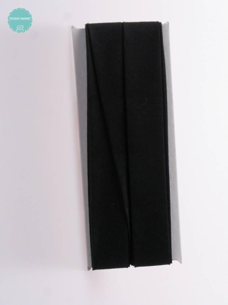 Fillawant Biaisband Katoen Zwart - 520