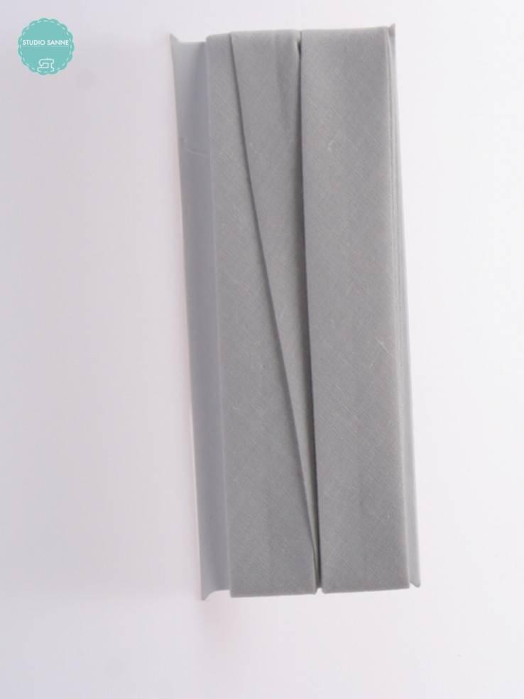 Fillawant Biaisband Katoen Lichtgrijs - 579