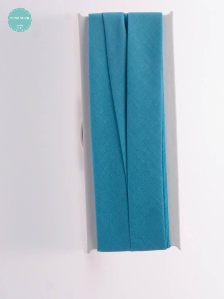 Fillawant Biaisband Katoen Turquoise - 644