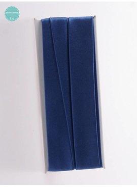 Fillawant Biaisband Satijn Blauw - 048