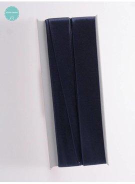 Fillawant Biaisband Satijn Marine Blauw - 901