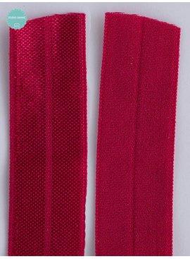 1.10€ p/m - Fushia - Elastische Biaisband
