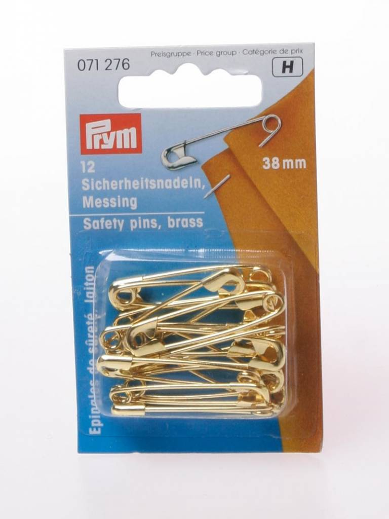 Prym Veiligheidsspelden Brons - 38 mm