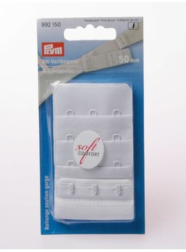 Prym BH Verlengstuk - 50 mm - Wit