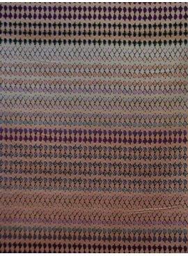 Editex 1,6m op 1,45m (2 panelen) - Paneel Pastel Ruit Pink - Elastisch Katoen