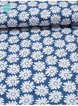 Nooteboom 8€ p/m - Madelief Blauw - Elastisch Katoen