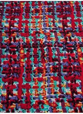 Nooteboom 7€ p/m - Geweven Kleuren Print - Elastisch Katoen