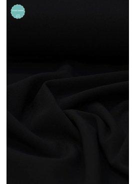9€ p/m - Zwart - Crepe