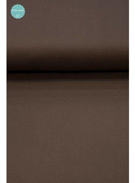 11,50 Euro Per Meter - Licht Bruin - Keperkatoen