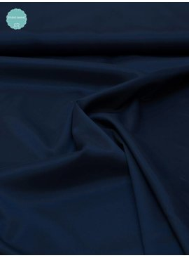 Venezia 10,60 Euro Per Meter - Marine Blauw - Elastische Voering