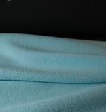 10€ p/m - Double Face Antraciet Blauw - Fleece