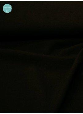 2,00m x 150cm - Gabardine - Broekstof Zwart