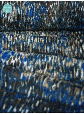 Nooteboom 3,50€ p/m - Blue Brown Spots - Gebreid