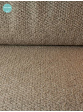 20,50 Euro Per Meter - Beige Wool - Gebreid