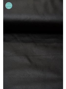 0,50m x 140cm - Imitatieleder - Zwart