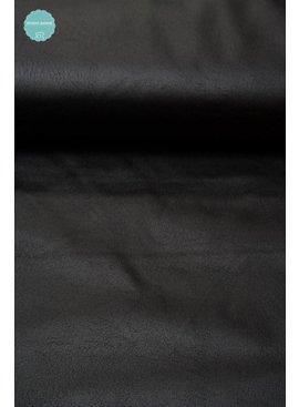 9,50 Euro Per Meter - Zwart - Imitatieleder