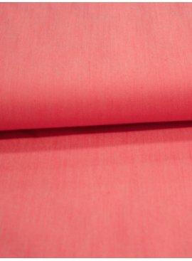 Editex 18 Euro Per Meter - Licht Rood - Jeans