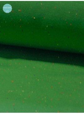 Joggingstof - Cosy Colors Groen - 14,00 Euro Per Meter