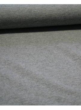 Joggingstof - Melange Grey - 15,00 Euro Per Meter