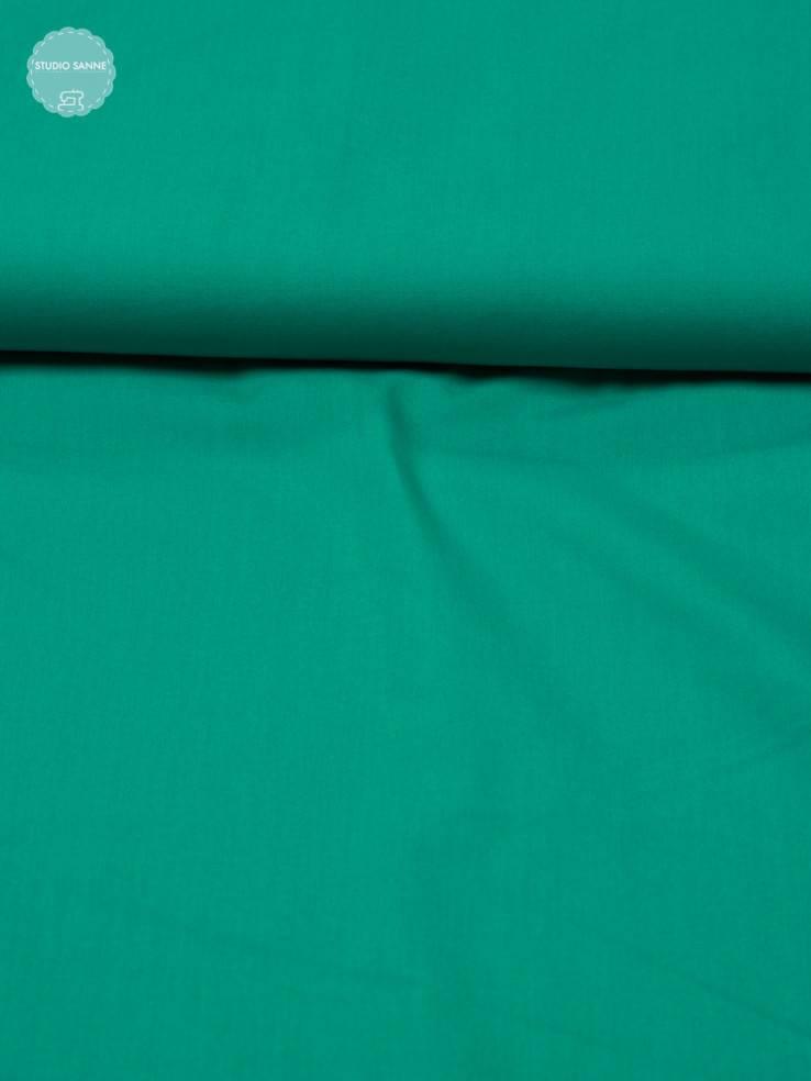 8€ p/m - Azuur Blauw Candy Cotton - Effen Katoen